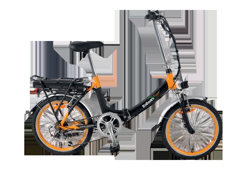 greenbike pesaro-bici elettriche pieghevoli-italwin-Flipper 20