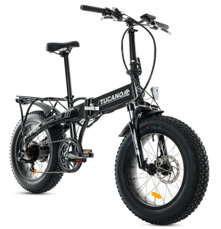 greenbike pesaro-Fat bike elettriche-Tucano bikes-Monster 20 HB