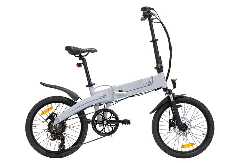 greenbike pasaro-bici elettriche pieghevoli 20-Italwin-K2 S