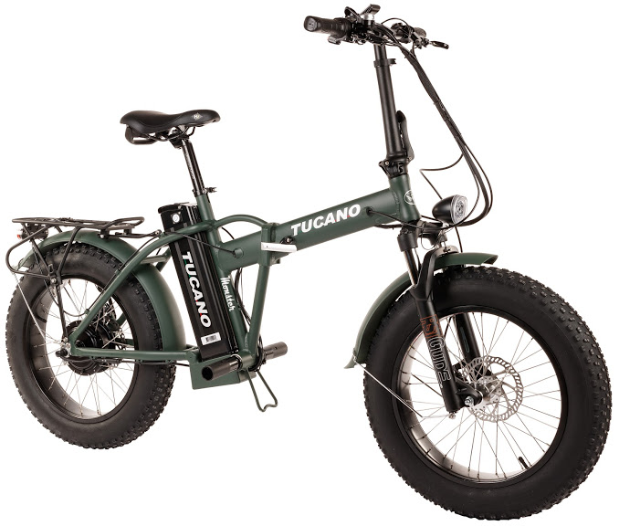 greenbike pesaro-bici pieghevoli elettriche-Tucano bikes-Monster 20