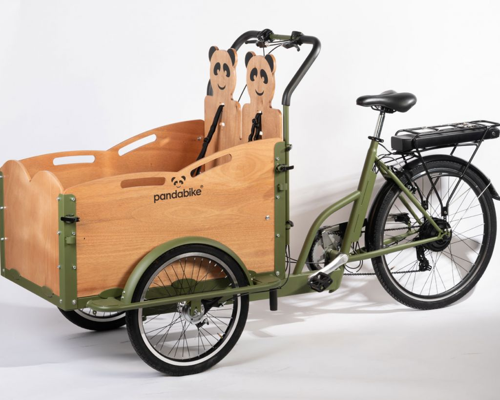 greenbike pesaro-Pandabike-cargo bike elettrico-Minivan