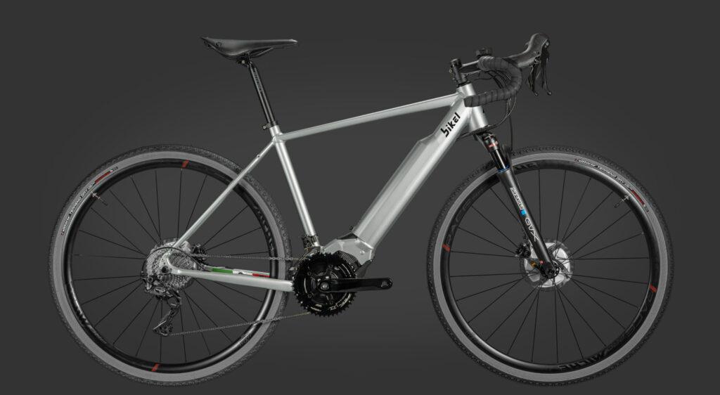greenbike pesaro-bici elettriche Gravel-Bikel-Weekender++-bici con motore Polini